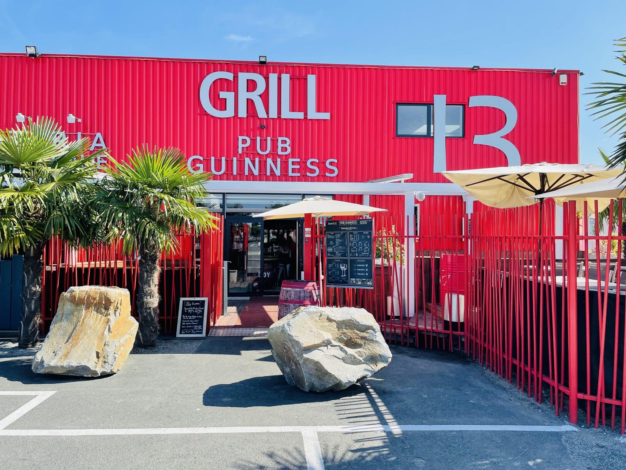 Témoignage du Grill Pub Guinness de St Herblain (44)